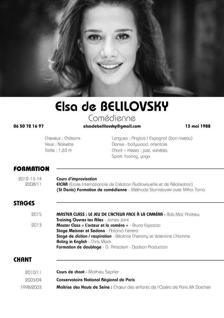 elsa de belilovsky  bio